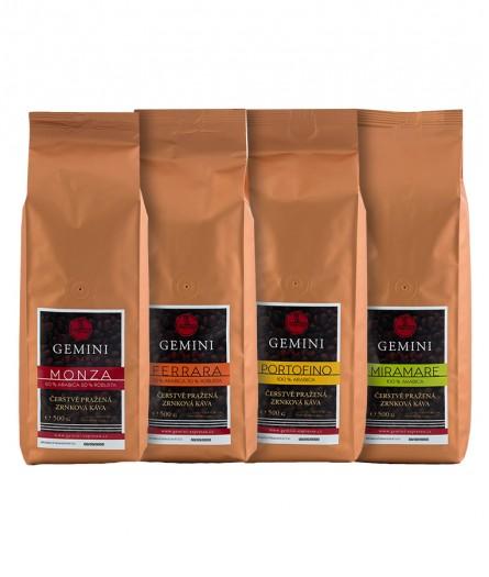 Degustační balení kávy 4 x 500g