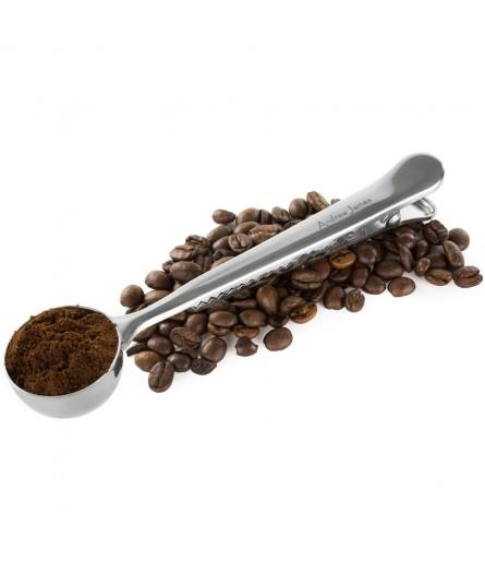 Odměrka na kávu s klipem